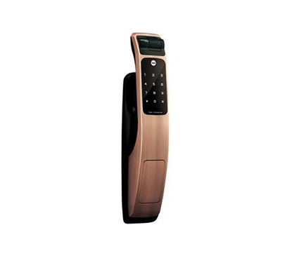 Picture of Yale Door Lock Digital Mortise  Pull & Push Finger Print Red Bronse