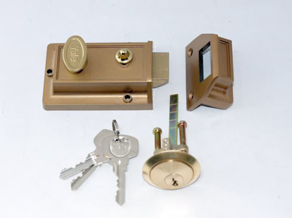 Picture of Yale Night Latch 60MM Gold Lacquer