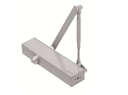 Yale Door Closer Surface Mounted Silver の画像