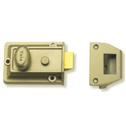 Rim Locks, Traditional Night Latch Cylinder P77 の画像
