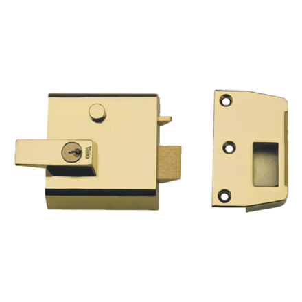 Rim Locks, Double Cylinder Security Latch P1 の画像