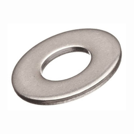 316 Stainless Steel Flat Washer Metric Size の画像