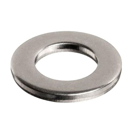 10Pcs Stainless Flat Washer, 304 Stainless Flat Washer - Inches Size の画像