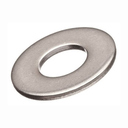 10 Pcs  Stainless Steel Flat Washer, 316 Stainless Flat Washer, Inches Size の画像