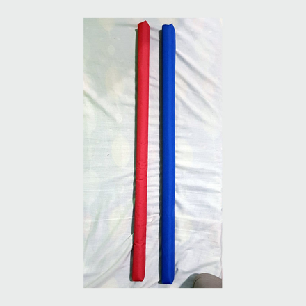 Arnis with Padding, Blue & Red, U04AWPBR の画像