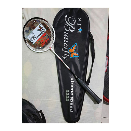 Butterfly Carbonex 15P, Xtreme Speed 222, High Modulus Carbon Graphite Badminton Racket, One Piece, U04BRCG の画像
