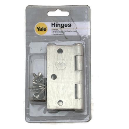 Yale V1135 US15, Heavy Duty Loose Pin Hinges, Satin Nickel, V1135US15의 그림