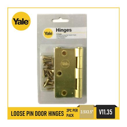 Yale V1135 US4, Loose Pin Door Hinges, V1135_US4의 그림