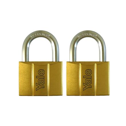 Yale V140.50 KA2, Standard Shackle Brass Padlocks 140 Series Key Alike 2, V14050KA2의 그림