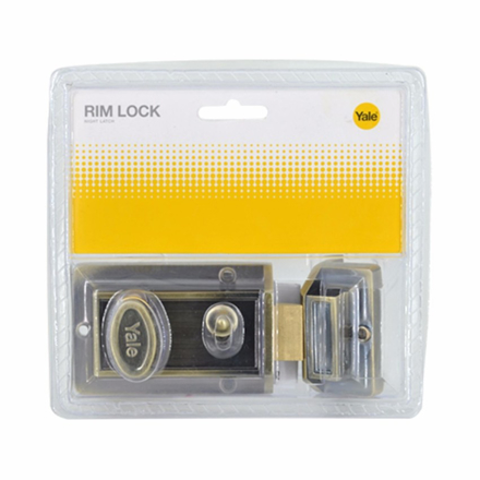 Yale V78GL, V78AB, Rim Lock Night Latch, V78564GL の画像