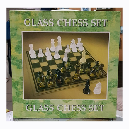 Glass Chess Set, U04GCS の画像