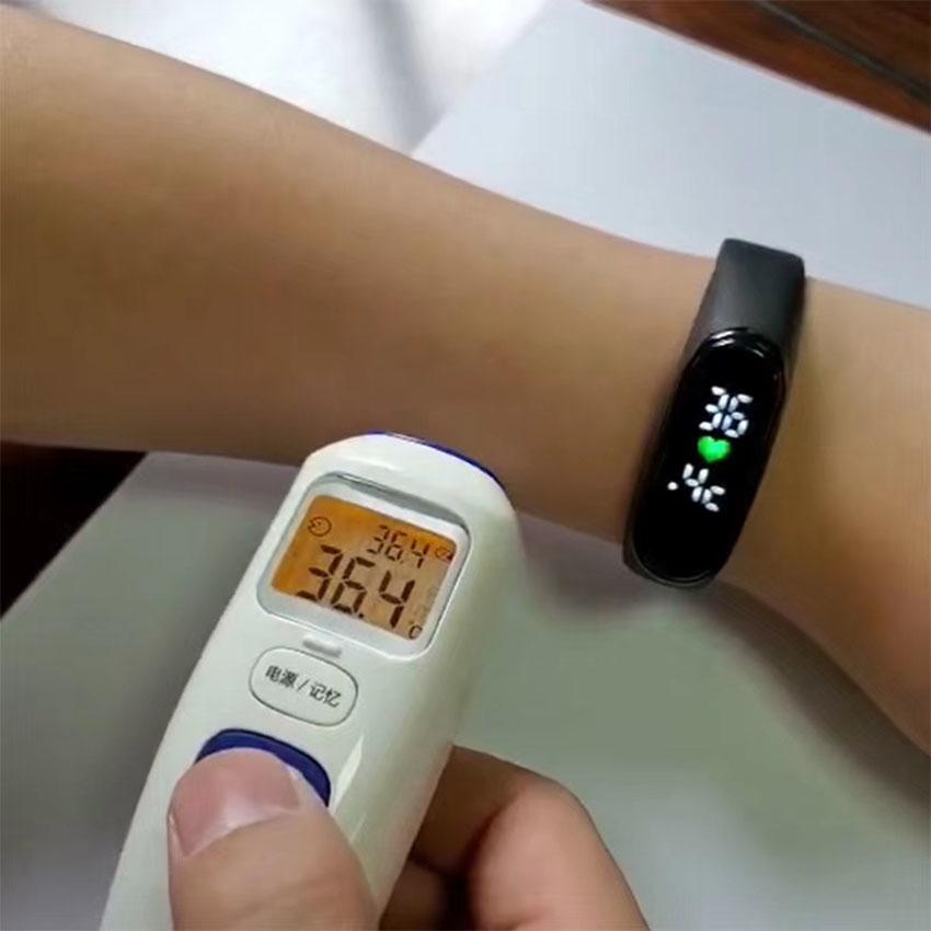 Smart Digital Watch,Watch w/. Temperature,digital Watch의 그림