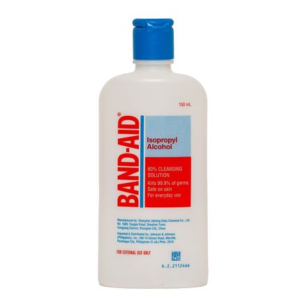 Band-Aid 70% Isopropyl Alcohol, BAN10의 그림