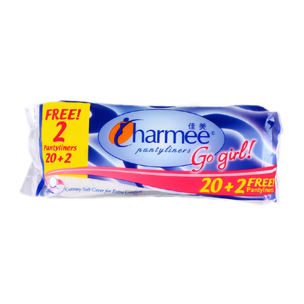 Charmee  Pantyliners Go Girl 20+2 Free Pantyliners,  CHA125A の画像