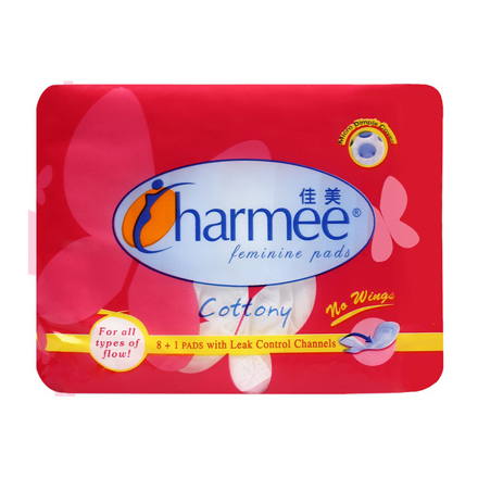 Charmee Sanitary Napkin for All Types of Flow without Wings, CHA146의 그림