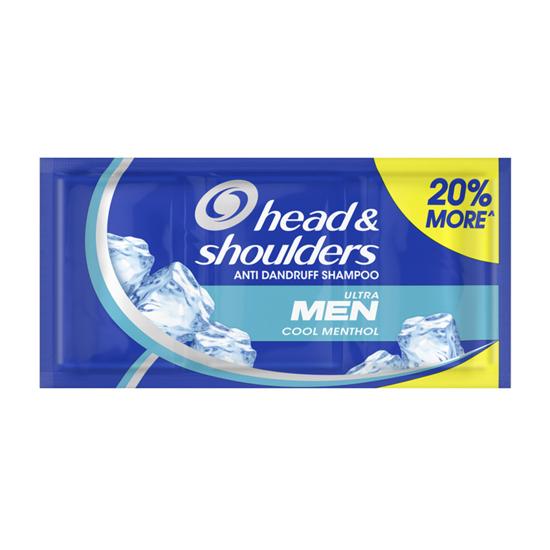 Picture of Head & Shoulders Cool Menthol Anti-Dandruff Shampoo for Men 12ML, HEA15