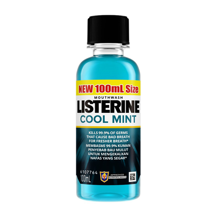 Listerine Mouthwash Cool Mint Mouthwash, LIS02 の画像
