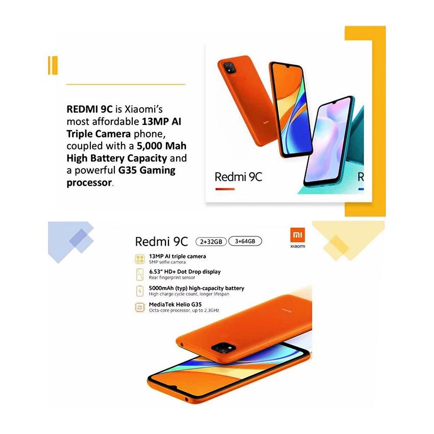 Xiaomi Redmi 9C Android Smart Phone, XIAR9C의 그림
