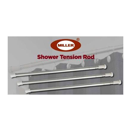Miller Aluminum Shower Tension Rod, ML204S의 그림