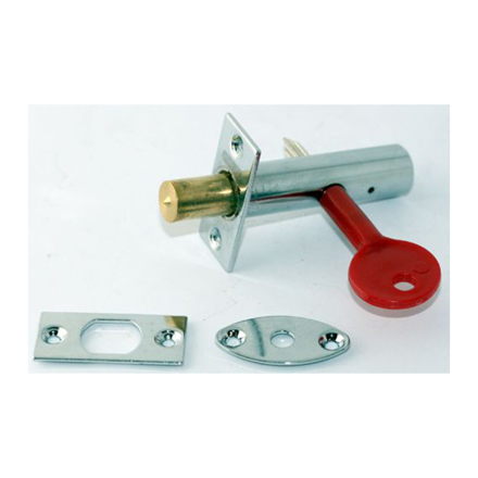 Stanley 16 X 60MM Tube Lock Zinc Alloy, Bright Chrome, ST1411011 の画像