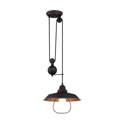 Picture of Westinghouse 1 Light Pulley Pendant Lamp, WH63325R
