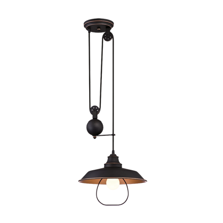 Westinghouse 1 Light Pulley Pendant Lamp, WH63325R의 그림