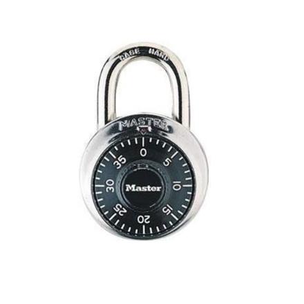 "Master Lock Combination Padlocks 3/4"" Shackle, 1505D の画像"