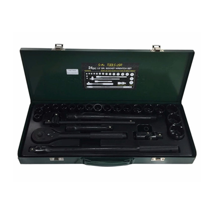 S-Ks Tools USA Socket Wrench Set (Black), B-24 の画像