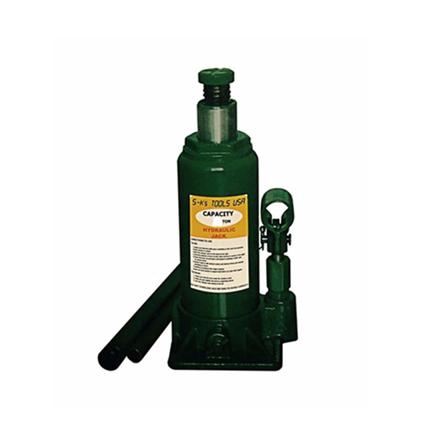 S-Ks Tools USA 15 Tons Hydraulic Bottle Jack (Green), JM-10015SH の画像