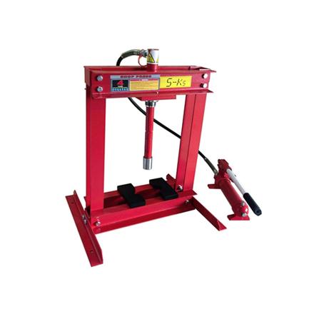 S-Ks Tools USA Hydraulic Shop Press (Black/Red), JMSP-9004 の画像