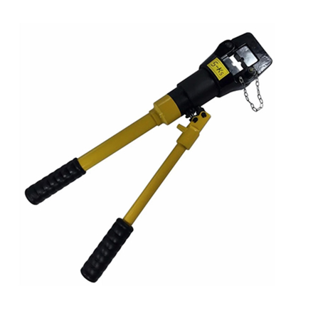S-Ks Tools USA 16 Tons Hydraulic Crimping Plier Cable Crimper (Black/Yellow), JMYQ-400A の画像