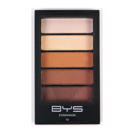 BYS Horizontal Eyeshadow Palette 5-piece (Natural Delight, Sun Kissed), CO/ESH5ND의 그림