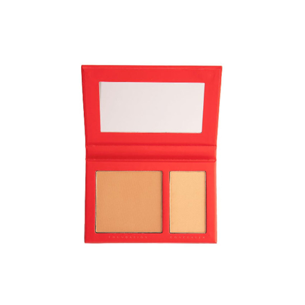 BYS Reigne Duo Powder (Medium Beige, Natural Beige, Natural Tan, Warm Beige, Ivory), CO/RGEDMB의 그림