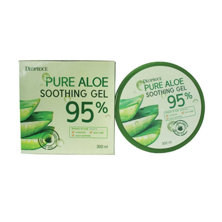 Picture of Deoproce Pure Aloe Soothing Gel 200 ML, 38078449
