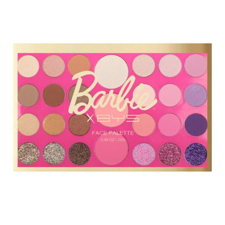 BYS x Barbie 27 Pc Face Palette (Livin' the Dream), CO/FPO27B の画像