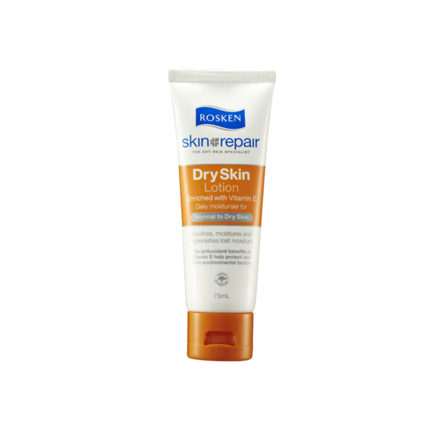 Picture of Rosken Dry Skin Lotion with Vitamin E (Tube 75 ml, Jar 250 ml, Pump 400 ml), 601709
