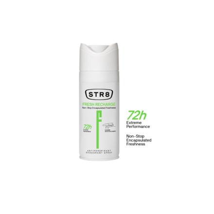 Str8 Deodorant Spray 250 ml Fresh Recharge, 8571027195 の画像