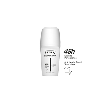 Str8 Deodorant Roll On 250 ml Invisible Force, 8571027205 の画像