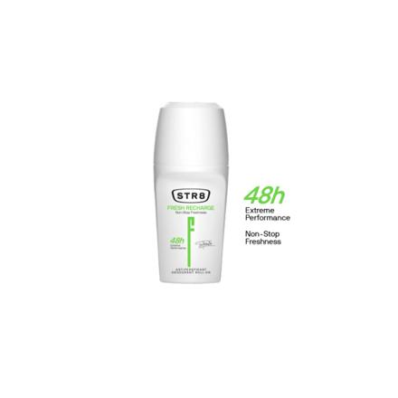 Str8 Deodorant Roll On 250 ml Fresh Recharge, 8571027196 の画像
