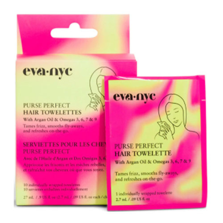 Eva-Nyc Purse Perfect Hair Towelette, EV50.13353 の画像