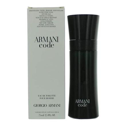 Giorgio Armani Code Black Tester 75 ml, GIORGIOARMANITESTER の画像