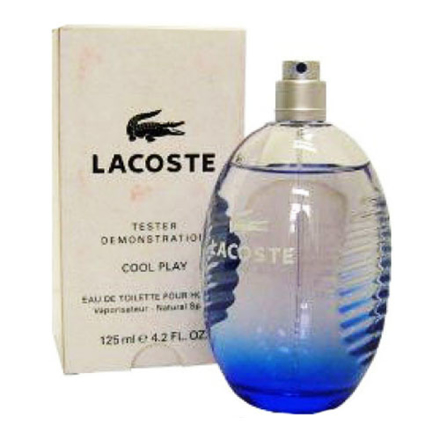 Lacoste Cool Play Blue Men Tester 125 ml, LACOSTECOOLTESTER の画像