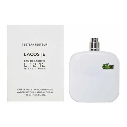 Lacoste Pure Blanc Men Tester 100 ml, LACOSTEPURETESTER の画像