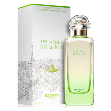 Hermes Un Jardin Sur le toit Women Authentic Perfume 100 ml, HERMESLETOIT の画像