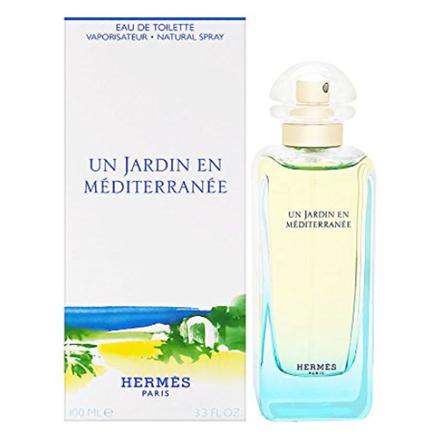 Hermes Un Jardin En Mediterranee Women Authentic Perfume 100 ml, HERMESMEDITERRANEE の画像