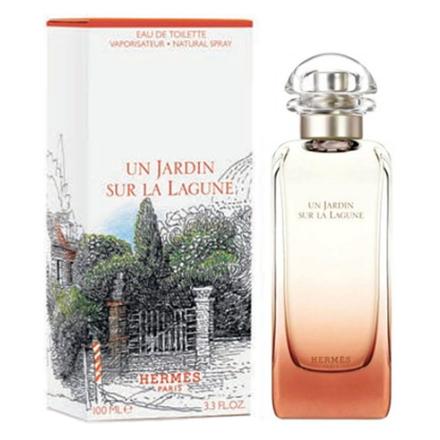 Hermes Un Jardin  Sur La lajune Women Authentic Perfume 100 ml, HERMESLAJUNE の画像