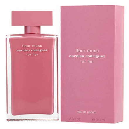 Narciso Rodriguez Fleur Musc Women Authentic Perfume 100 ml, NARCISOFLEUR の画像