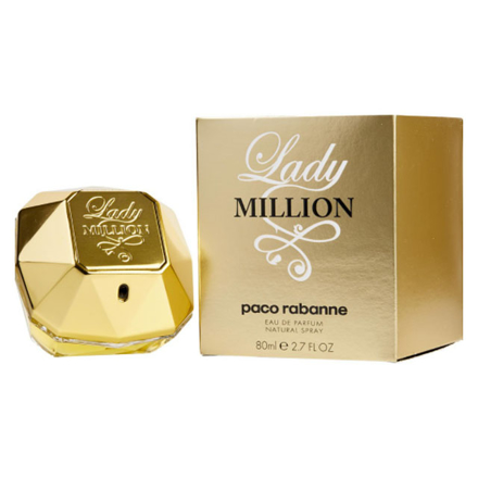 Paco Rabanne Lady Million Women Authentic Perfume 80 ml, PACORABANNELADY の画像