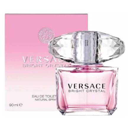 Versace Bright Crystal Women Authentic Perfume 90 ml, VERSACECRYSTAL の画像