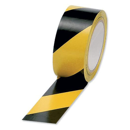 Excel Lane Marking Tape 48mm x 33m (Yellow/Black, Yellow, Blue, Red, Green, White, Orange, Black), EXCELLM.TAPE の画像